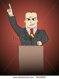 Stock-photo-businessman-politician-is-speaking-and-pointing-with-his-finger-65258827